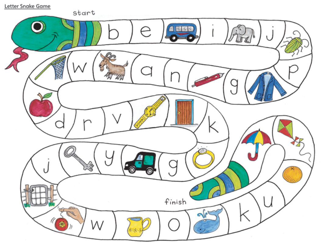 Letter Snake Game  Wordworks