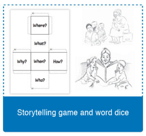 Telling-stories-and-dice-game