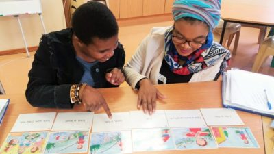 Ready Steady Read Write (RSRW) trains Co-ordinators in the Eastern Cape
