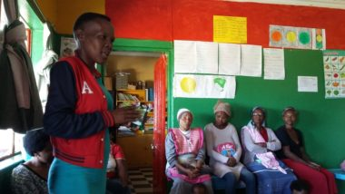 Learning and support visits to EWC partners in KZN and EC