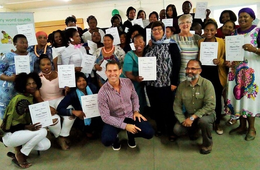 A heartwarming celebration for ECD practitioners in Worcester
